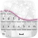 White Keyboard Theme icon