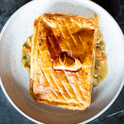 Chicken & Leek Pot Pie (Serves 2)