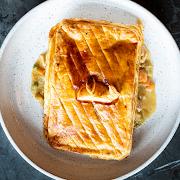 Chicken & Leek Pot Pie (Serves 2)