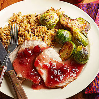 Cranberry Pork Roast.