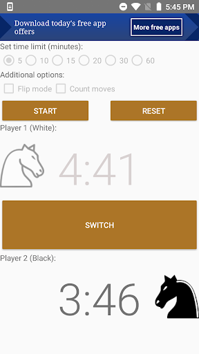 Chess clock lite - The Chess Clock portable apkmind screenshots 2