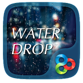 Drop Rain 3D Go Launcher Theme