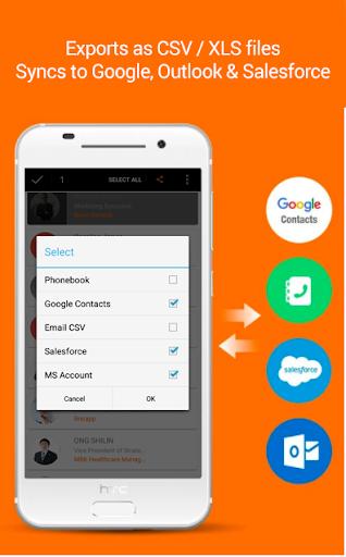 Business Card Reader: Card Scanner & Organizer Pro 1.3.2 screenshots 2