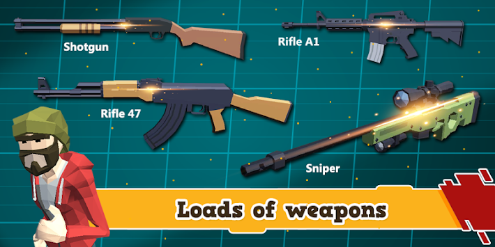 Gunners.io - 3D Shooting Game apk screenshot
