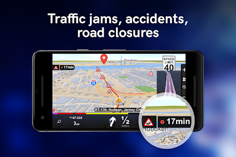 Sygic Truck GPS Navigation Screenshot