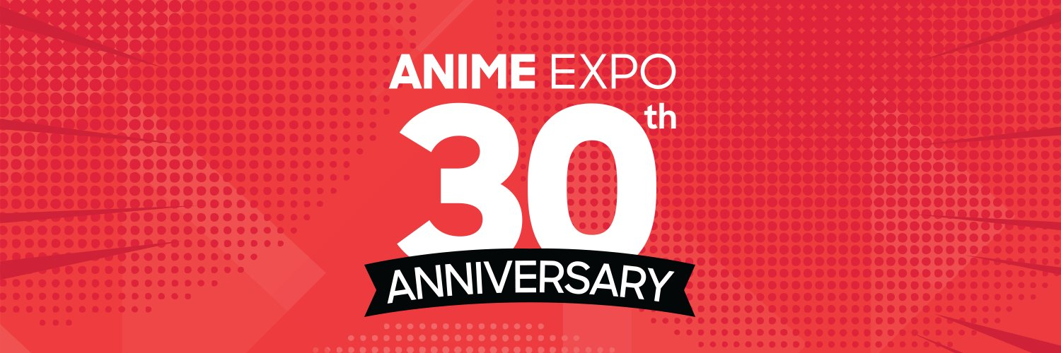 Anime Expo 30th Anniversary Banner