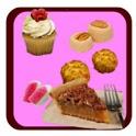 Recetas de repostería, postres, dulces y bebidas icon