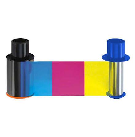 Färgband Fargo HDP5600 - YMCK - 500 utskrifter