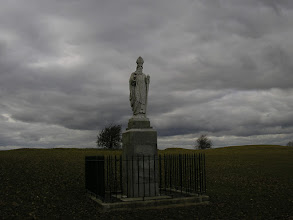 Photo: Monument to St. Patrick at the Hill of Tara