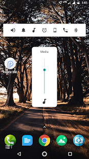 Volume controls android p - P Volume controls Free Screenshot
