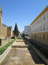 """Photo: A side path that led to numerous restaurants and the famous """"Great Mosque."""""""