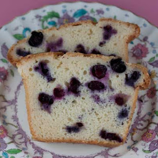 Blueberry Sour Cream Loaf Cake.