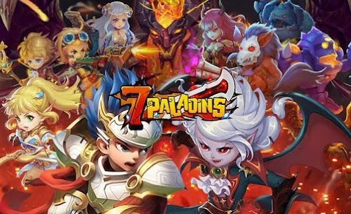 HACK Seven Paladins EN: 3D RPG x MOBA Game