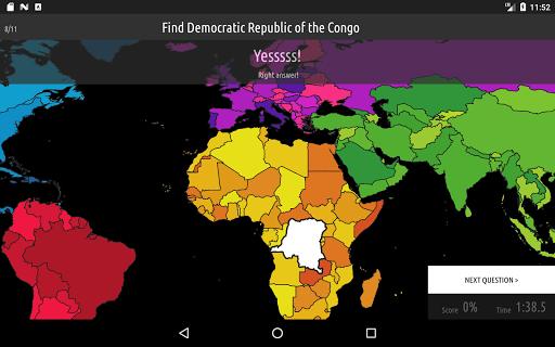 Blank Map Quiz screenshots 12
