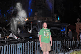 Photo: Jason with ghost at Haunted Mansion.jpg