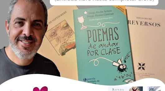 La Casa de la Cultura de Vera acogerá un encuentro con el poeta Diego Reche
