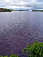 Photo: Lake and Maine Mountains