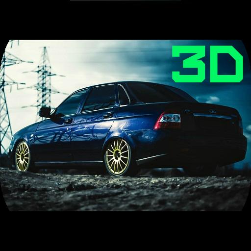 Russia тачки: Приора 3D дрифт 賽車遊戲 LOGO-玩APPs