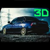 Russia тачки: Приора 3D дрифт