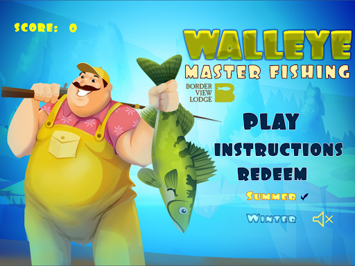 Walleye Master Fishing