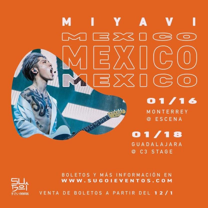 Miyavi en Guadalajara