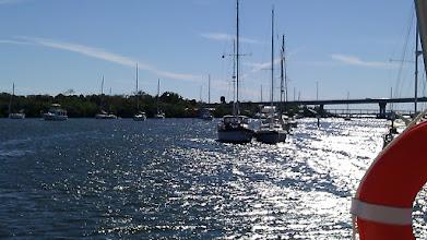 Photo: Vero Beach Municipal Marina, Vero Beach FL. Moored. looking south.