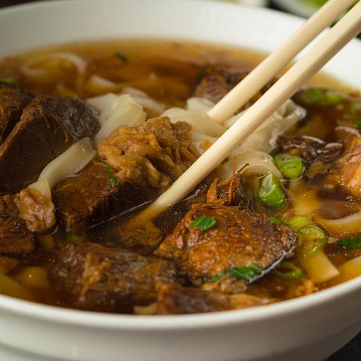 Beef Brisket Rice Noodle in Soup