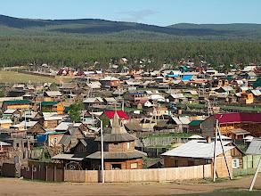 Photo: The main village of Olkhon island : Khuzir