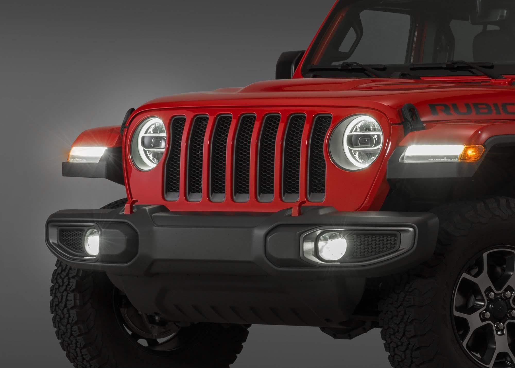 Оптика Jeep Wrangler