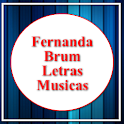 Letras Fernanda Brum Aplicatos icon