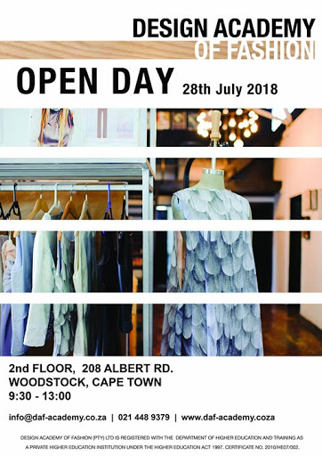 2018 DAF OPEN DAY : Design Academy of Fashion
