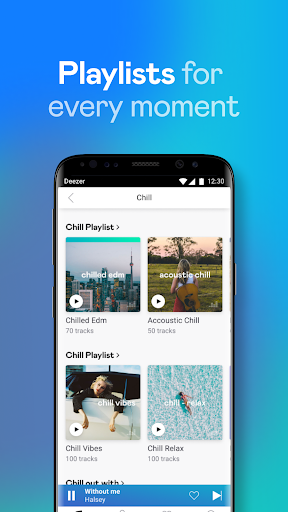 Deezer Music Player: Songs, Playlists & Podcasts 6.2.7.126 screenshots 4