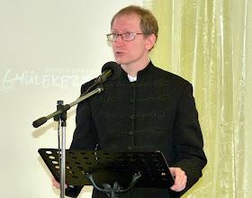 Photo: 2011. október 30-án Lenkey István tiszteletes úr, a Paksi Református Egyházközség lelkésze volt Gyülekezetünk vendége.