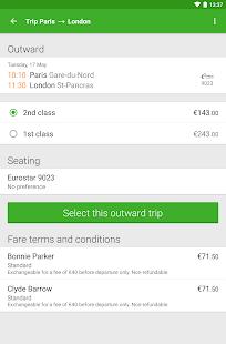 Captain Train: train tickets Screenshot 16