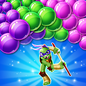 Turtles Hero Bubble Shooter