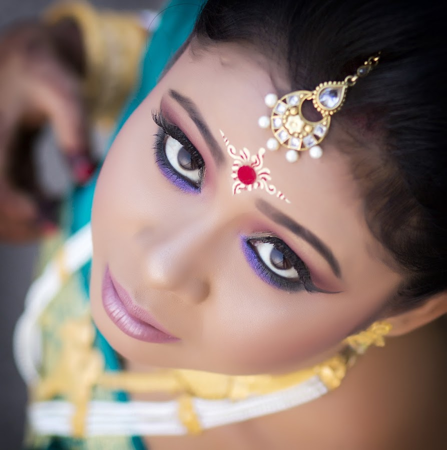 Eyes by Rathin Halder - Wedding Bride