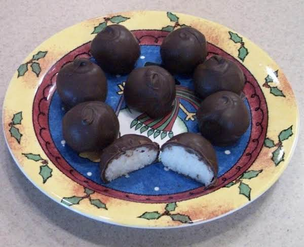 Chocolate Covered Coconut Balls Recipe
