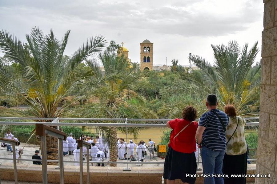 Экскурсия с гидом Светланой Фиалковой в Каср эль Яхуд – истинном месте Крещения Иисуса Христа в реке Иордан. Израиль.