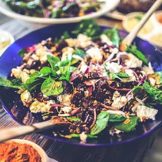 Vegetable & Black Pudding Salad