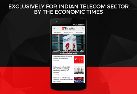 ET Telecom from Economic Times- screenshot thumbnail