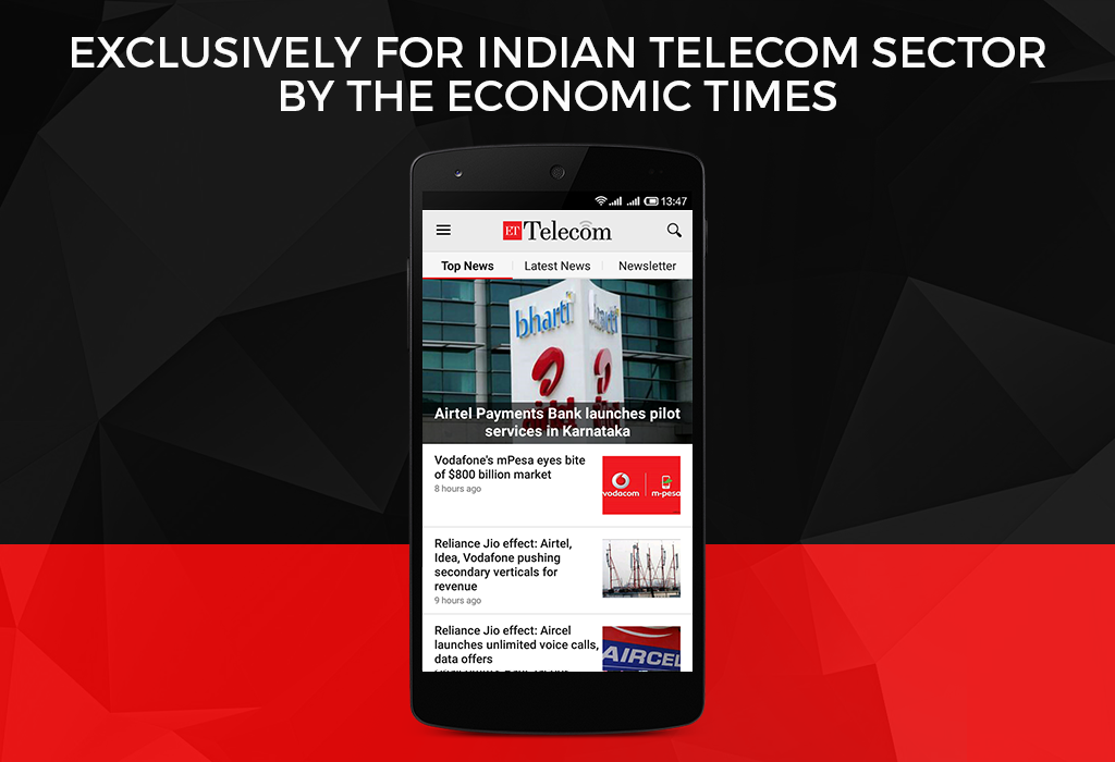 ET Telecom from Economic Times- screenshot