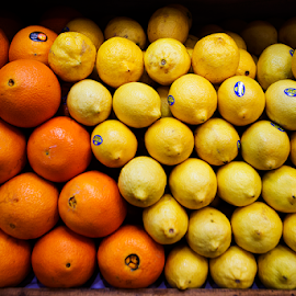 Source Of Natural Vitamin C by Steven De Siow - Food & Drink Fruits & Vegetables ( orange, lemon, fruits, pattern, abstract )