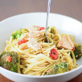 Herb and Lemon Chicken with Pesto Pasta