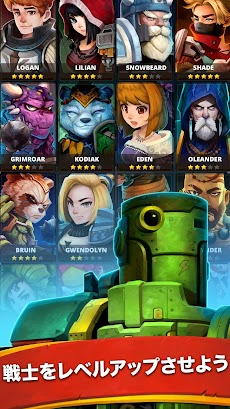 Battle Bouncers - ヒーローと魔法使いたち. 射撃 クエストのおすすめ画像4