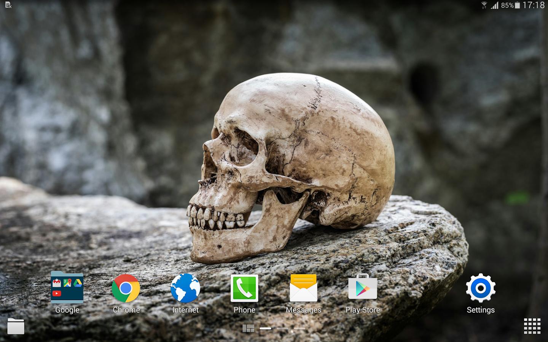 Skull wallpapers 4k android apps on google play - Skull 4k images ...