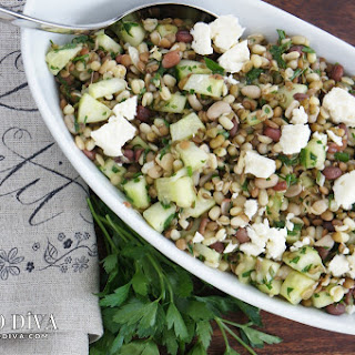 Sprouted Bean Trio Salad