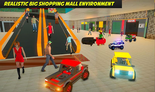 Shopping Mall electric toy car driving car games 1.1 2