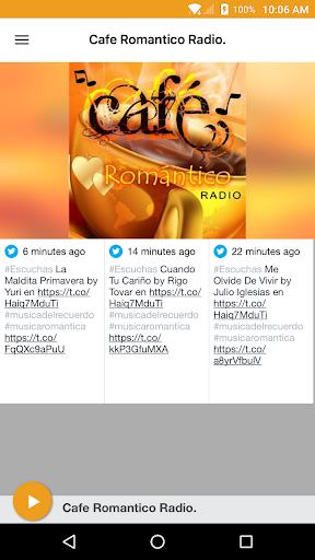 cafe romantico radio screenshot 1