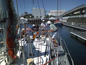 Photo: 10:00 出港。 来週のスバルザカップの為に夢の島まで回航します