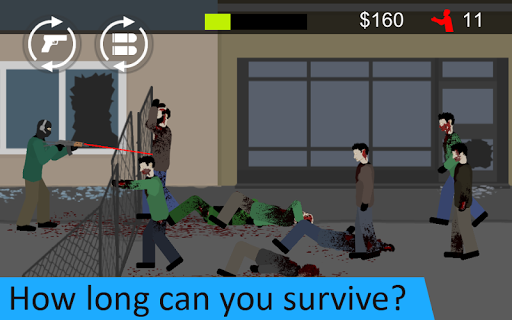 Flat Zombies: Defense & Cleanup  screenshots 5